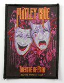 Motley Crue - 'Theatre of Pain' Woven Patch